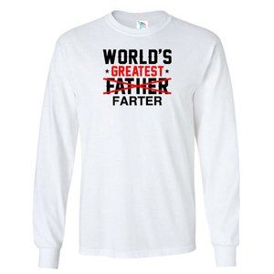 Youth Kids GREATEST FATHER Long Sleeve
